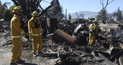 California wildfires: Town of Weed snapshot of challenges facing firefighters (+video)