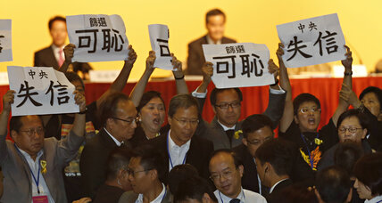 Hong Kong citizenry stirs as Beijing nixes direct democracy