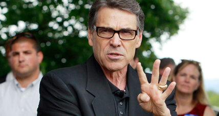 Rick Perry deletes tweet about drunk Democrat. Why did he bother? (+video)
