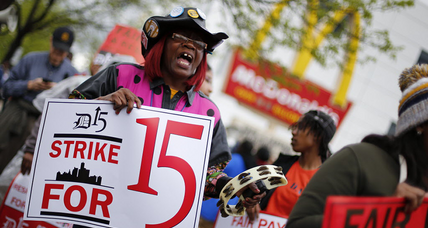 Civil disobedience, arrests expected Thursday in fast-food pay fight (+video)