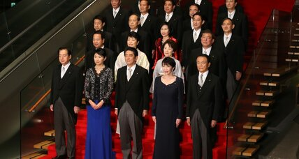 Japan's Abe adds women, China-friendly lawmakers to Cabinet