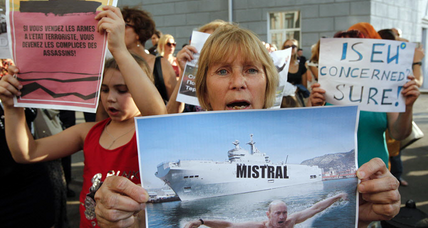 France suspends delivery of warships to Russia ahead of NATO summit