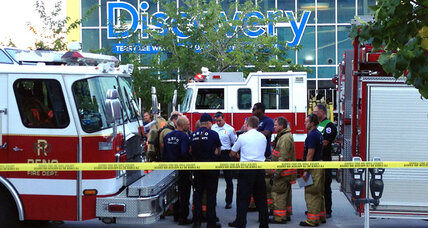 Chemical mishap at Reno museum leaves 13, mostly kids, hurt (+video)