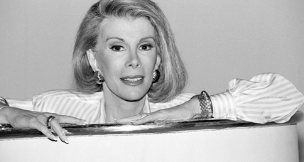 Joan Rivers was raucous, resilient, and tenacious comedian