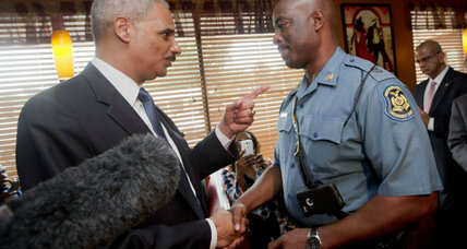 How attorney general hopes to mend relations between police and communities