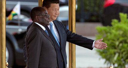 Mugabe is bailed out by Beijing. But too little too late for Zimbabwe? (+video)