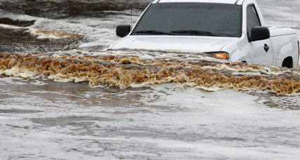 Flash floods, torrential rains drench Phoenix, claim two lives