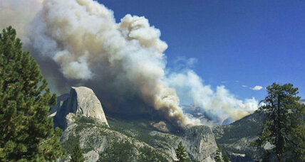 Yosemite wildfire scorches backcountry as firefighters scramble to contain blaze
