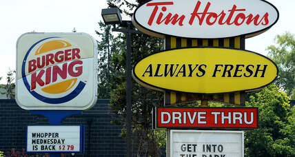 Tim Hortons deal is hurting Burger King's image