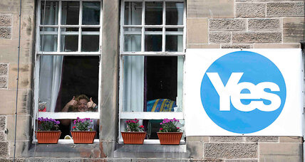 Why Scottish breakaway bid may hinge on voter turnout (+video)