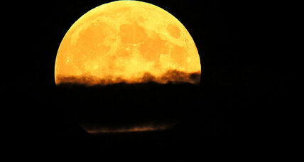 'Harvest supermoon': From Sydney to Chicago, people tweet their photos