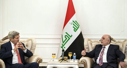 John Kerry meets with Iraqi PM to embrace unity to defeat IS militants