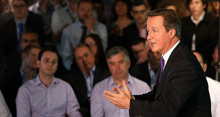 UK leader David Cameron rushes plea to Scots to stay a 'family'