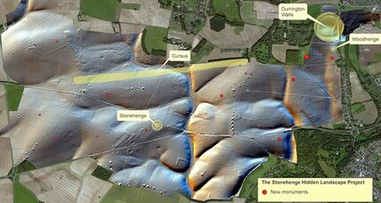Buried beneath Stonehenge, even more henges?