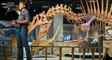Dinosaur was a terror in water: Think of a huge, flesh-eating 'crocoduck'