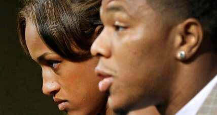 With Ray Rice video, a shift in how America views domestic violence (+video)