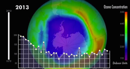 Ozone layer on track to recover, UN says