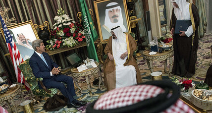 Kerry drums up Arab support in fight against Islamic State
