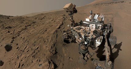 Mars rover Curiosity reaches ultimate destination: Mt. Sharp