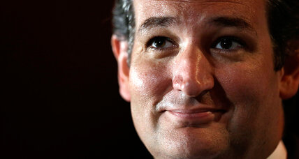 Ted Cruz walk-off: cynical, or 'Sister Souljah moment'?