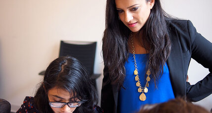 Reshma Saujani created Girls Who Code to help girls get computer savvy