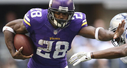 Adrian Peterson reinstated by Vikings, to play Sunday