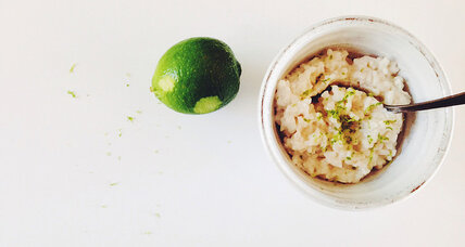 Gluten free coconut rice pudding
