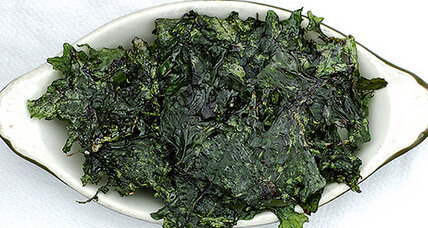 Kale chips 8 ways