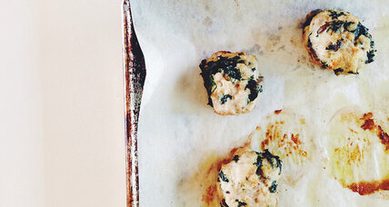 Kale turkey meatballs