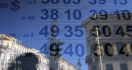 After new sanctions, Russian ruble drops to historic low against US dollar