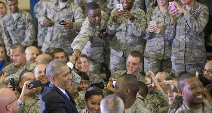 'Boots on the ground' in Iraq: Are Obama and Pentagon really at odds? (+video)