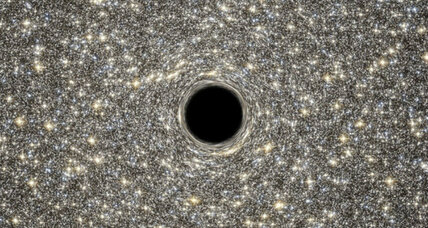 Boffins discover colossal black hole within tiny dwarf galaxy