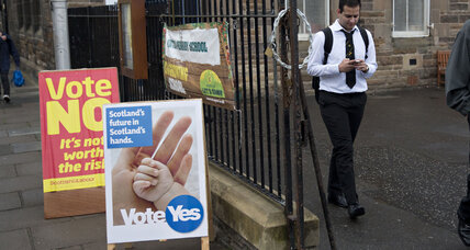 Are Scotland's newly enfranchised youth voters saying nay to aye? (+video)