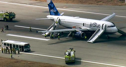 JetBlue flight makes emergency landing in Calif. over 'overheat warning' (+video)