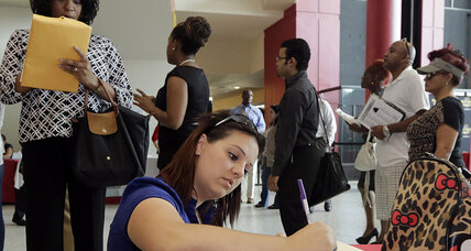 Jobless claims fall sharply; August numbers revised