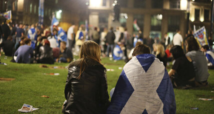 Pro-'Yes' Glasgow is introspective after Scotland opts to stay in UK