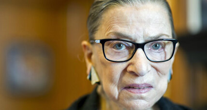 Justice Ginsburg lifts curtain on how Supreme Court might view same-sex marriage