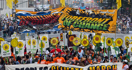 People's Climate March; Scottish oil and gas; Kenya's energy boom [Recharge]