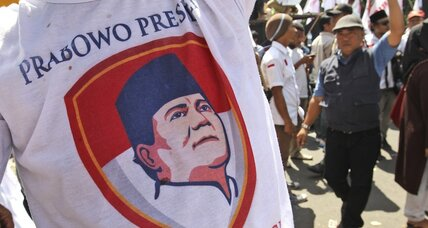 Hounded by his rival, Indonesia's new president faces test of principles