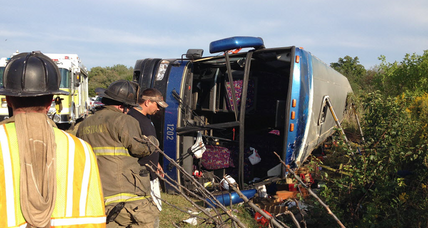 Delaware bus crash leaves 2 dead, many injured on Sunday