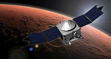 Air-sniffing space probe arrives in Mars orbit. What will it smell?