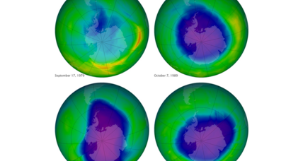 Earth's ozone layer: Scientists hail first hints of recovery (+video)