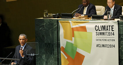 UN Climate Summit: Obama flexes US muscle in global climate fight (+video)