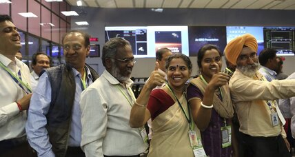 How India beat China to Mars (for less than the cost of a Hollywood movie)