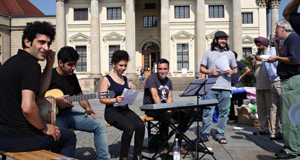 Iranians and Israelis find an unlikely musical detente in Germany
