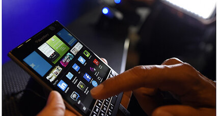 BlackBerry offers up to $600 if you trade in your iPhone