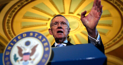 'Depose Harry Reid' is rallying cry for GOP Senate candidates: Good strategy?