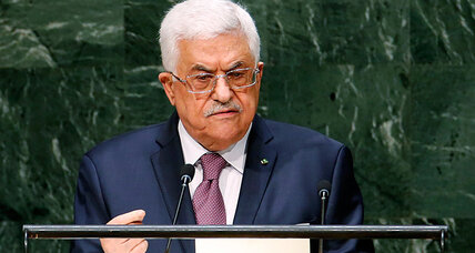 How Palestinian divisions undercut call for a UN deadline on statehood