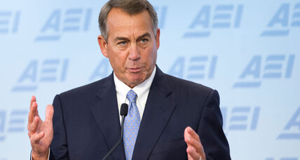 Boehner backs ground troops against Islamic State 'barbarians'