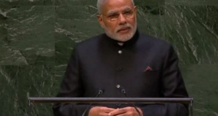 India's Modi takes Madison Square Garden (+video)